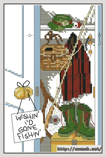 Fishing wish63x97 крестов15