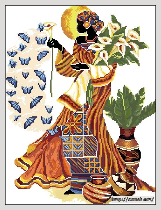 Ошун173x228 крестов40 цветов
