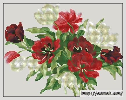 Тюльпаны138x108 крестов19
