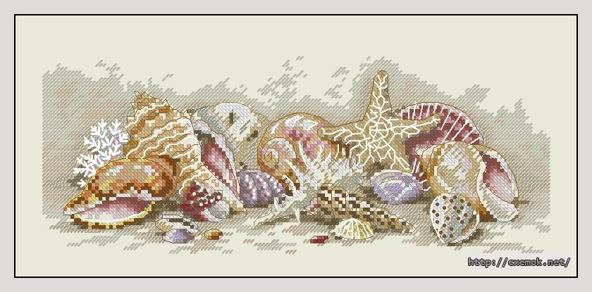 Вышивка бисер морская тематика 119