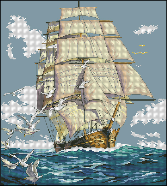 ключа к схеме clipper ship