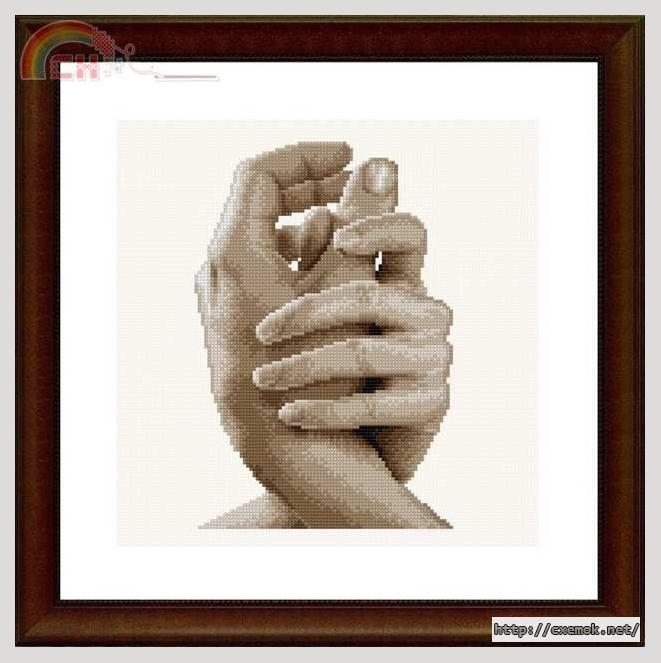 Схема вышивки рука в руке фото 111