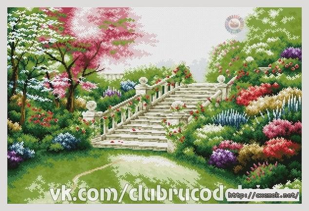 Вышивка лестница схема