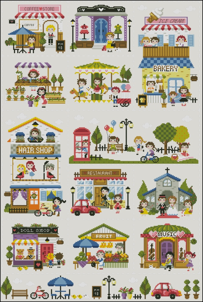 The mini village242x372