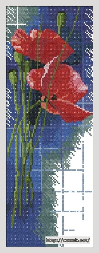 Летние цветы65x180 крестов21