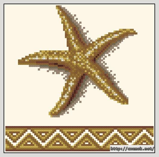Cхемы схема фенечки звезда