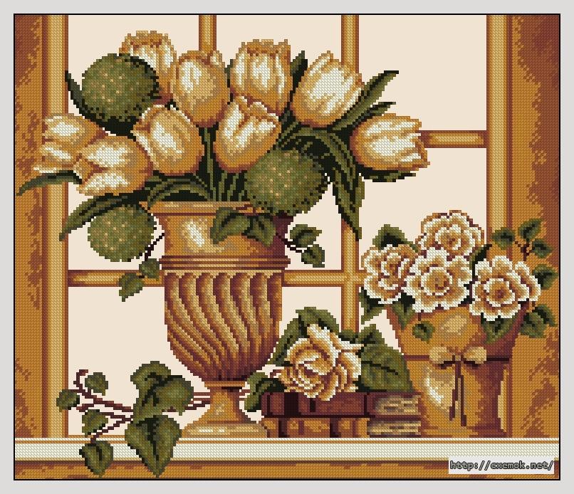 Тюльпаны192x164 крестов18