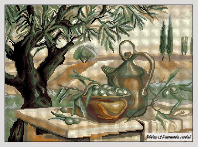 Оливковая