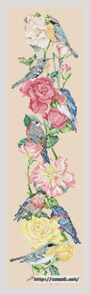 and roses90x338 крестов46