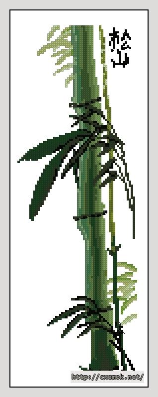 "Панно ""бамбук""70x190 крестов17"