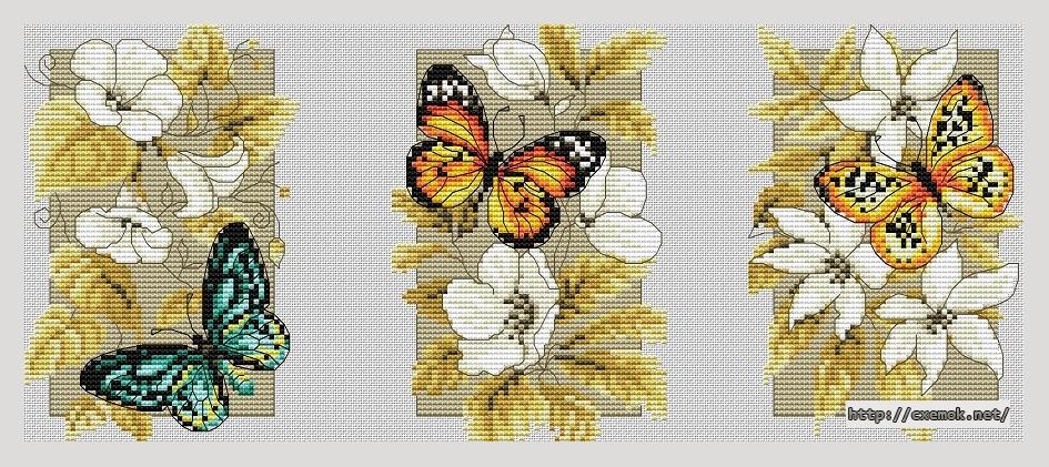 """""""бабочки""""196x82 крестов20"""