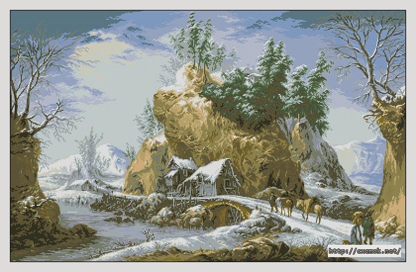 Зима в апеннинах400x255
