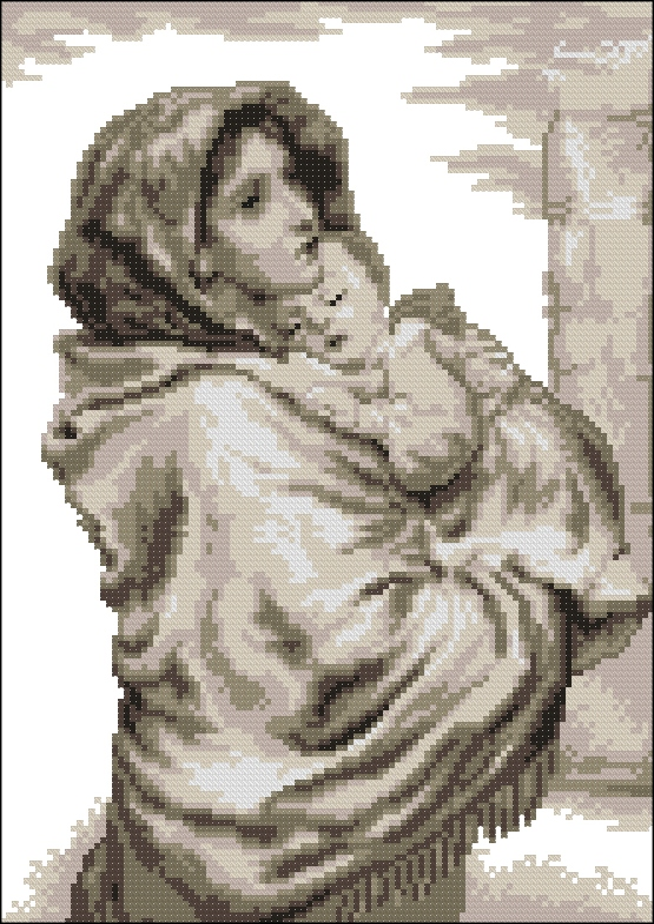 Мадонна с младенцем111x160
