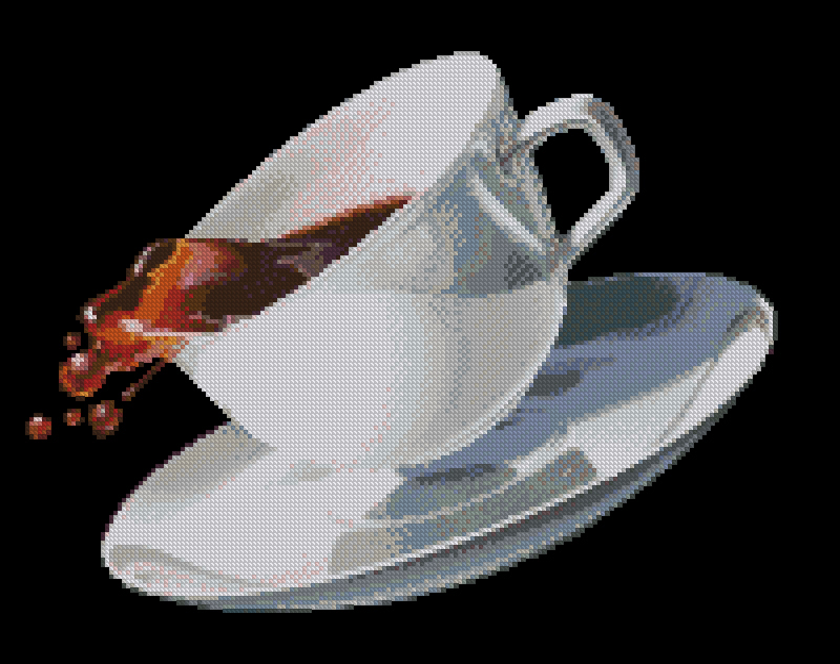 Чашка кофе200x156 крестов35