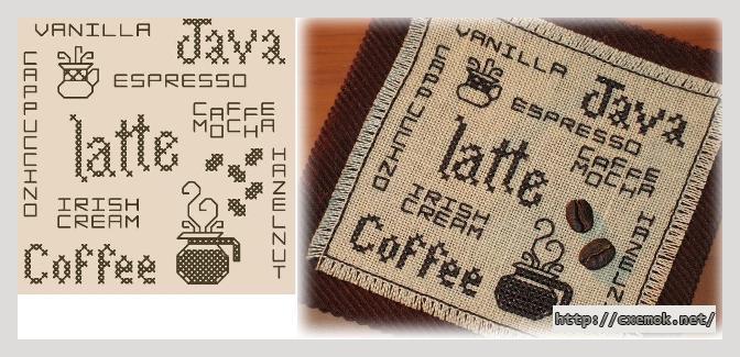 Кофе-салфетка46x47 крестов1
