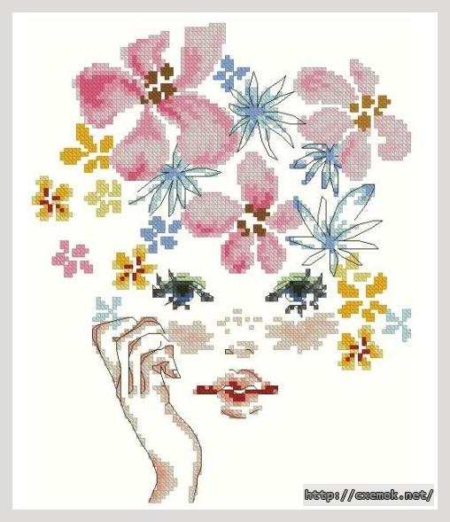 Схемы для вышивания весна