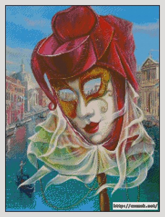 Венецианская маска170x227