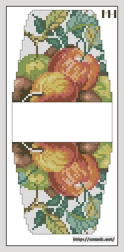 Яблоки52x112 крестов24 цветов