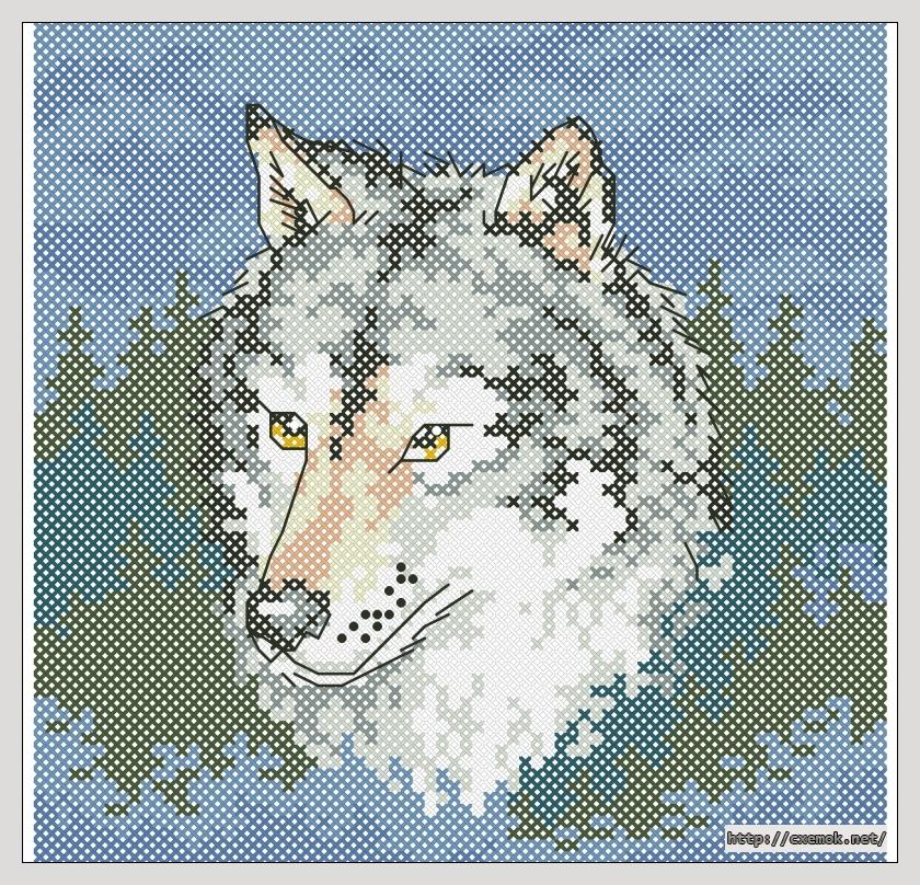 Cхемы wite wolf схема вышивки