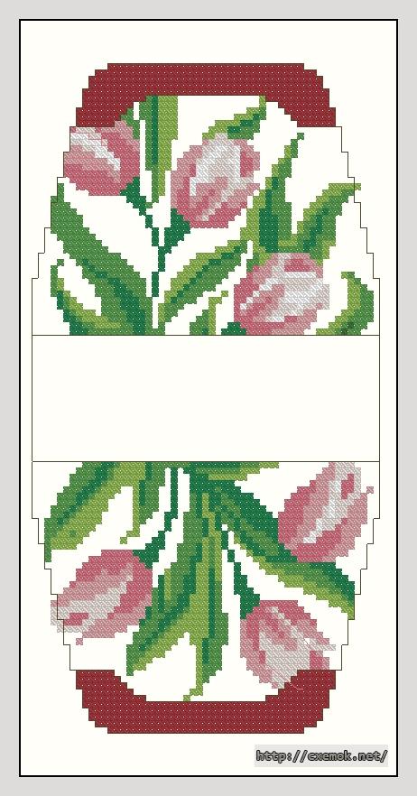 Тюльпаны (rico design)55x106