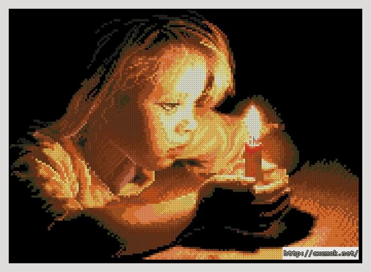 Девочка со свечой172x124