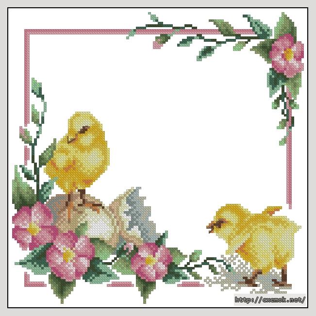 Пасхальные цыплята124x124
