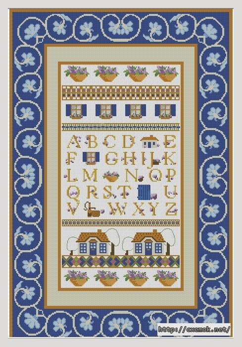 Алфавит238x350 крестов18