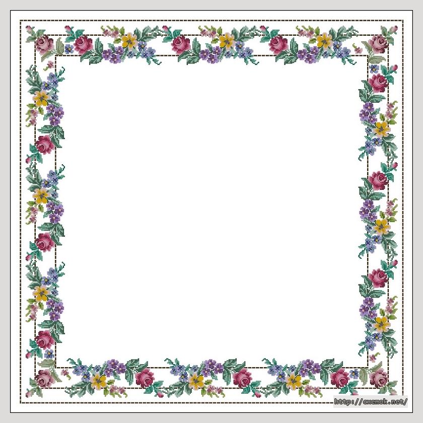Cхемы вышивка крестом цветы