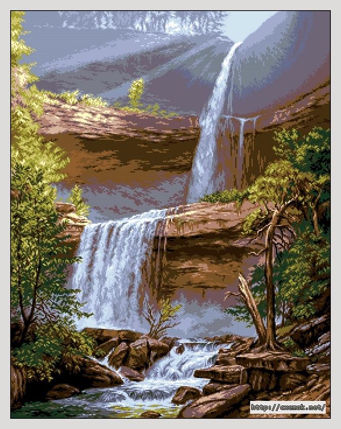 Катскильский водопад275x350