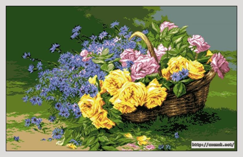 Розы и васильки (а.т.ф. де