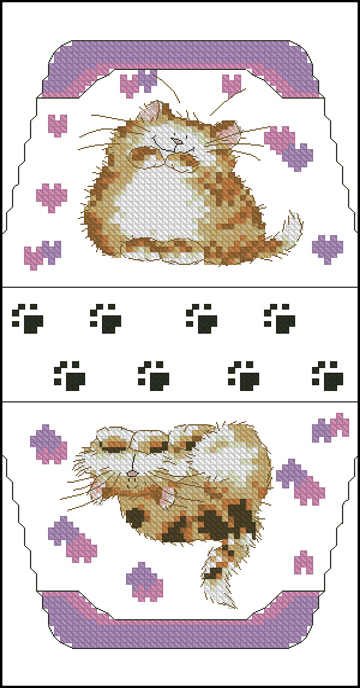 Коты м. шерри60x106 крестов13