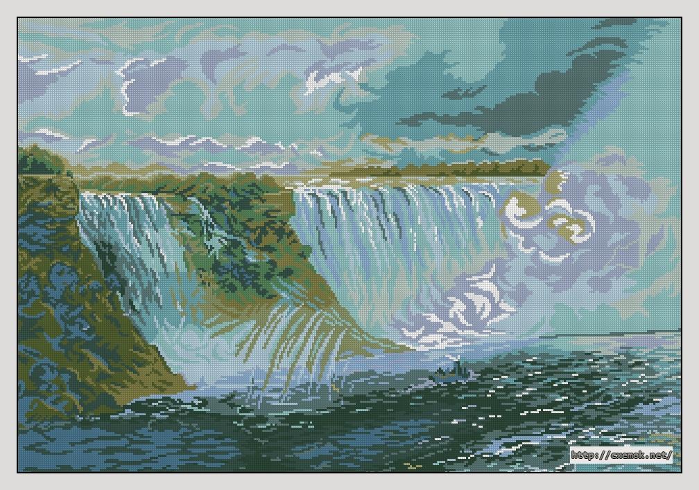Ниагарский водопад320x220