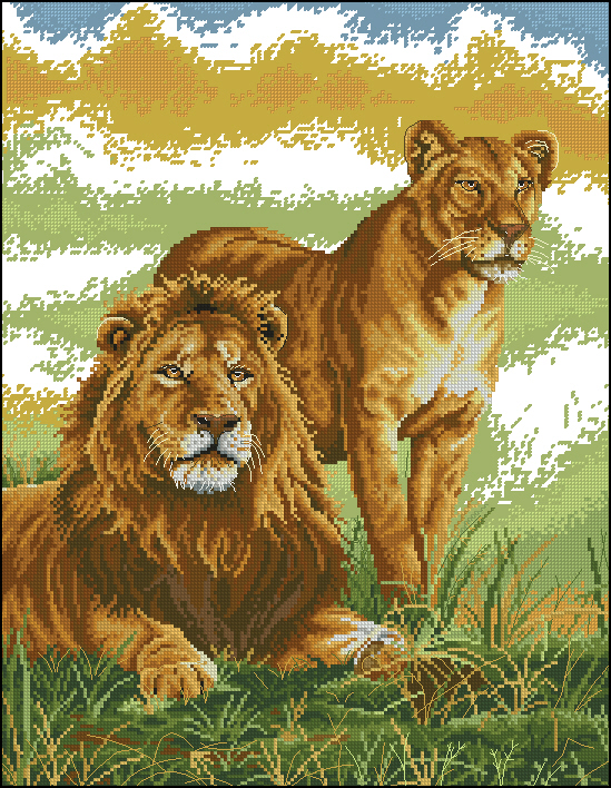 The lion family183x236