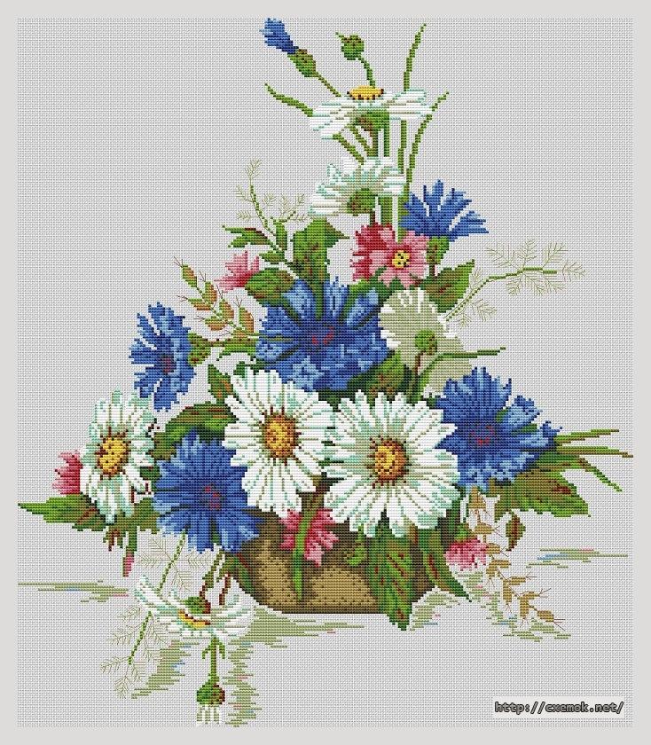Полевые цветы217x250 крестов26