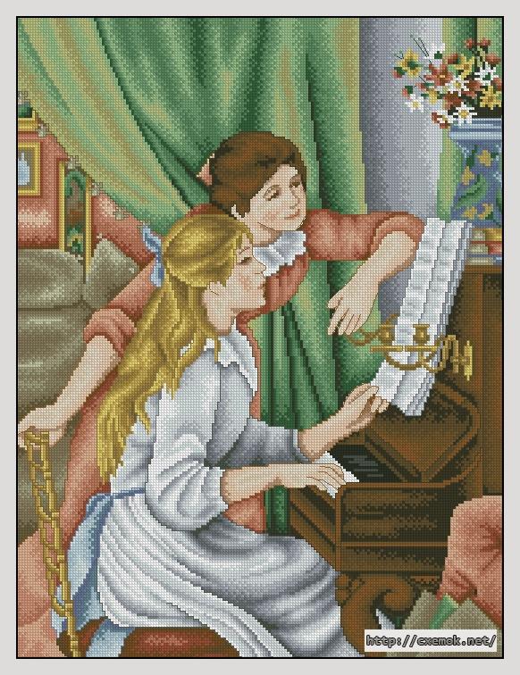 Piano182x240 крестов46 цветов