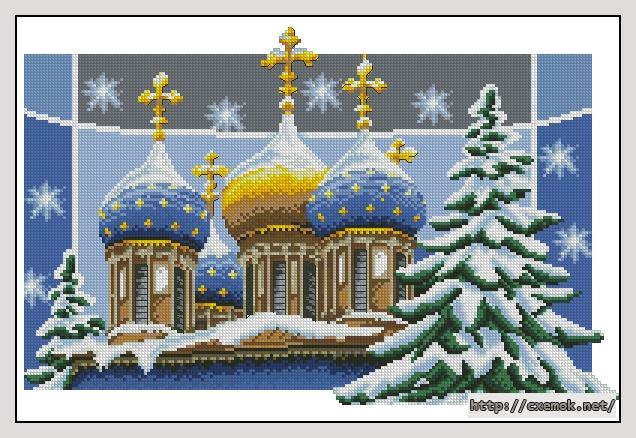 Рождественские купола198x126