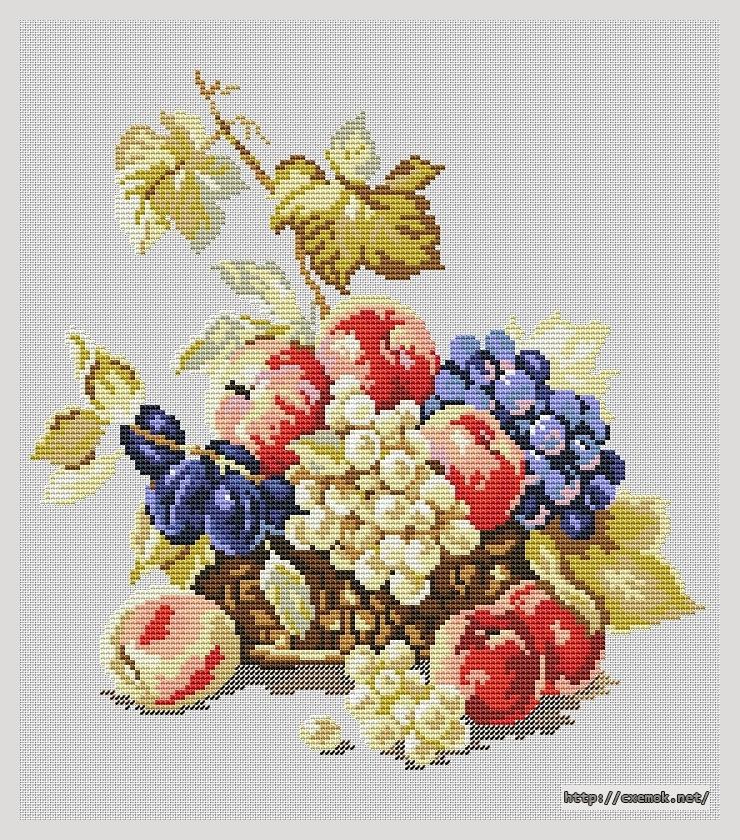 Яблоки и виноград140x160