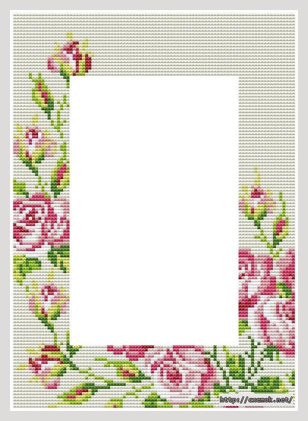 Рамка с розами92x128 крестов9
