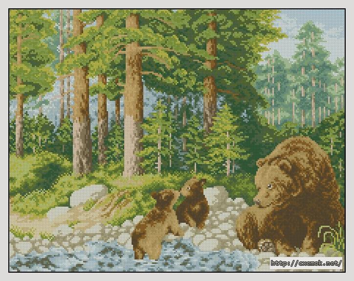 Медведи229x179 крестов41