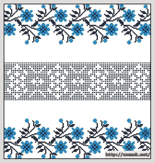 Cхемы схемы машинной вышивки