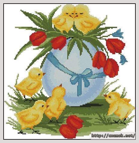 Пасхальное яйцо145x149