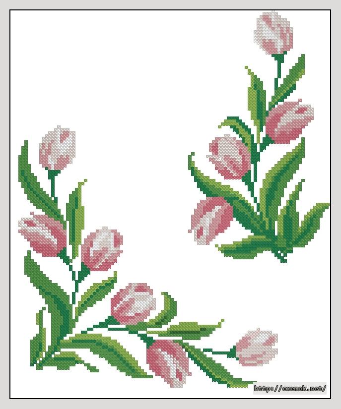 Тюльпаны105x127 крестов8