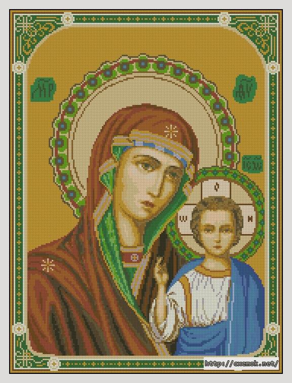 Казанская икона божьей