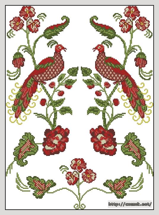 Рушник165x228 крестов9 цветов .