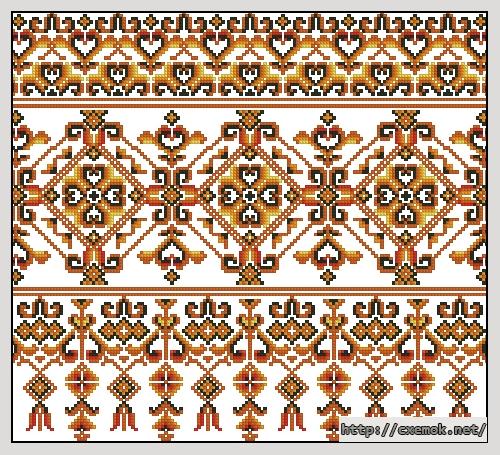 """Рушник """"танец огня""""159x144"""