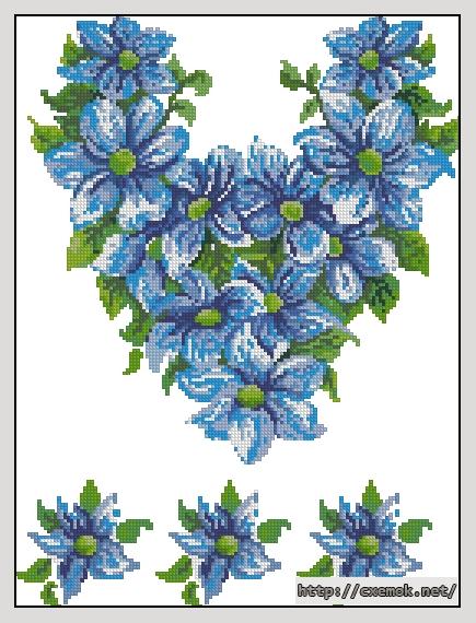 "Сорочка жіноча ""блакитна"