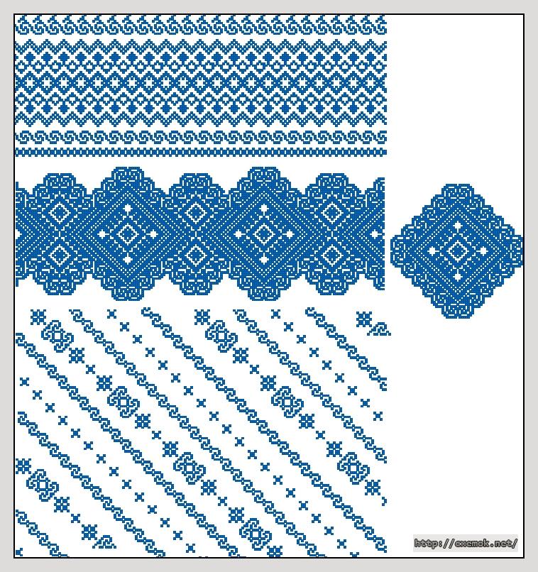 Cхемы вишиванка жiноча сорочка