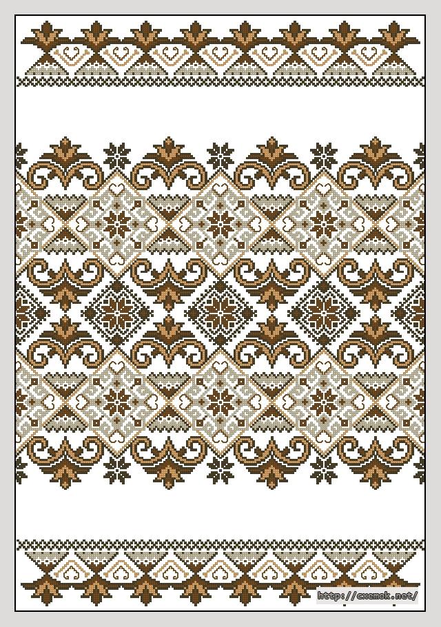 Схема рушника199x283 крестов4