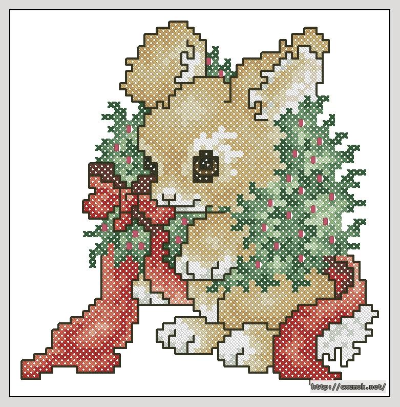 """Сачать схему вышивки """"Bunny in"""