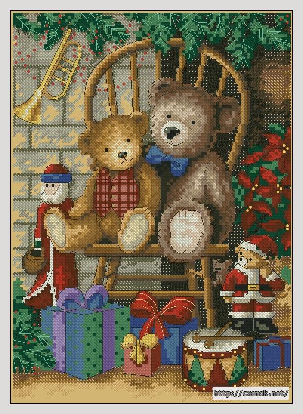 Медведи вышивка приметы 28